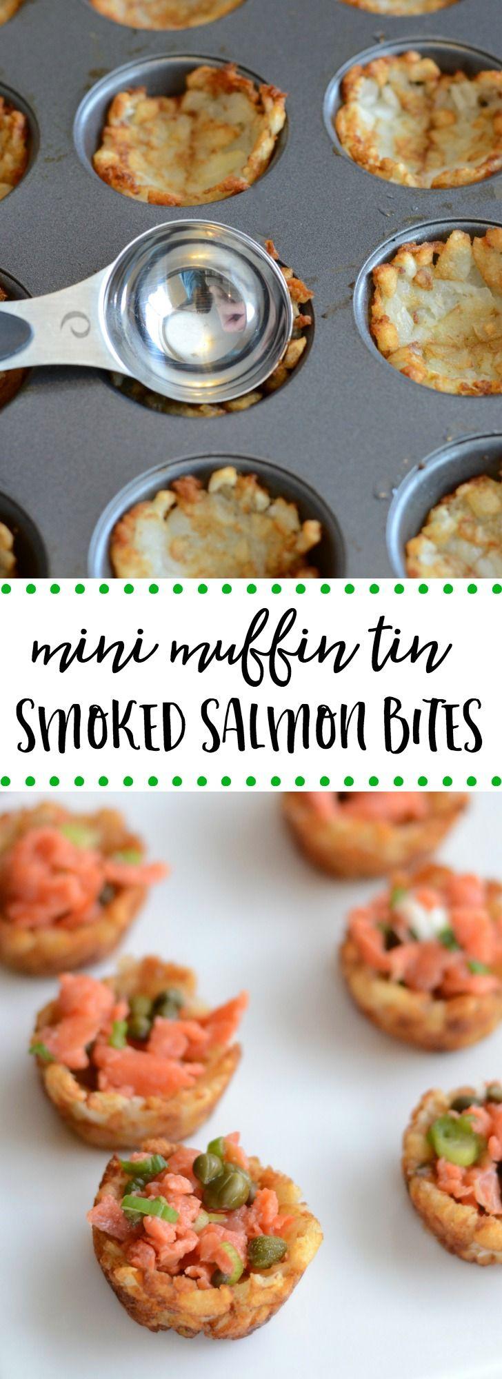 Easy Smoked Salmon Appetizer: Potato Bites