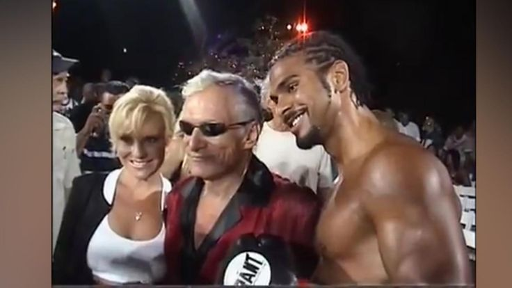 Former heavyweight champ David Haye recalls 'wild' night with Hugh Hefner and the Playboy bunnies