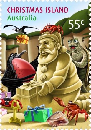 Aussie Santa   #stamps #philately #Christmas #Xmas  http://auspo.st/Uc3M2w