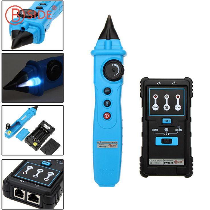 BSIDE FWT02 Network Cable Detector RJ45 RJ11 Wire Tracker Tracer Telephone Line Finder Tester