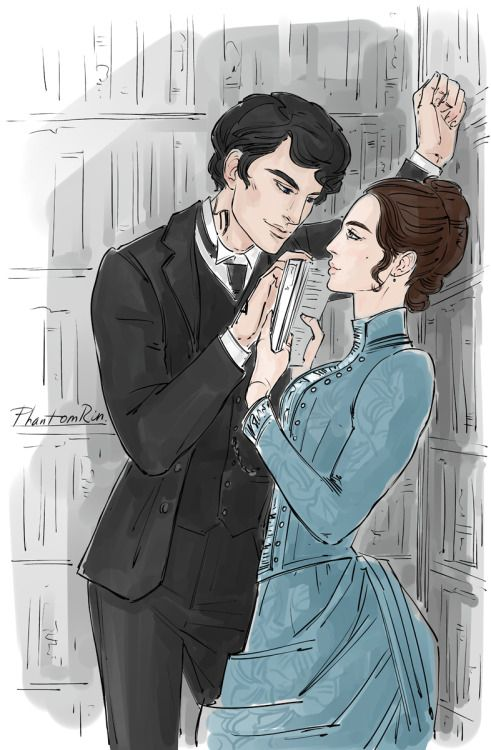Will & Tessa - for the 4th of the Shadowhunter Ship Weeks (TID by Cassandra Clare @cassandraclare )