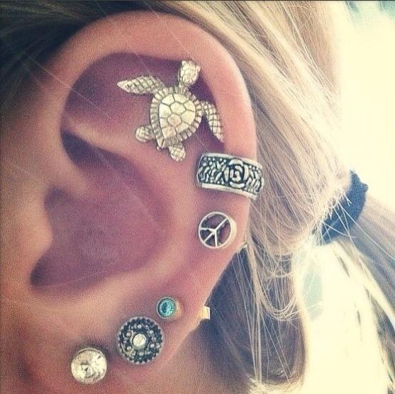 cartilage piercing ear lobe piercings
