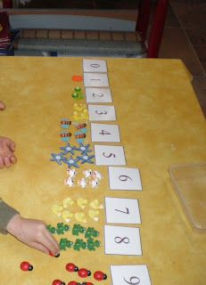 Montessori. *I would also put the correct # of dots on the number cards for beginner learners, to help them learn & build their confidence~ set them up for success.