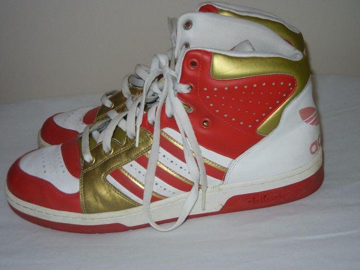 Vtg 2008 adidas Marvel Avengers Iron Man basketball shoes men's size 13 #adidas #BasketballShoes