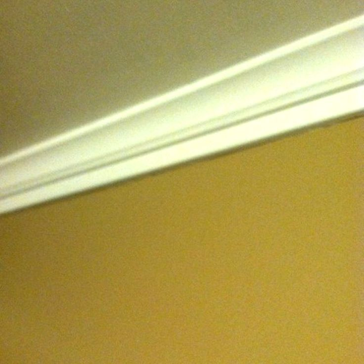 Foam Crown Moulding - It's so easy. Completed Job Pictures :: Hometalk