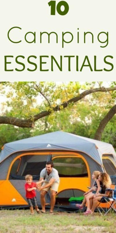 10 camping essentials!