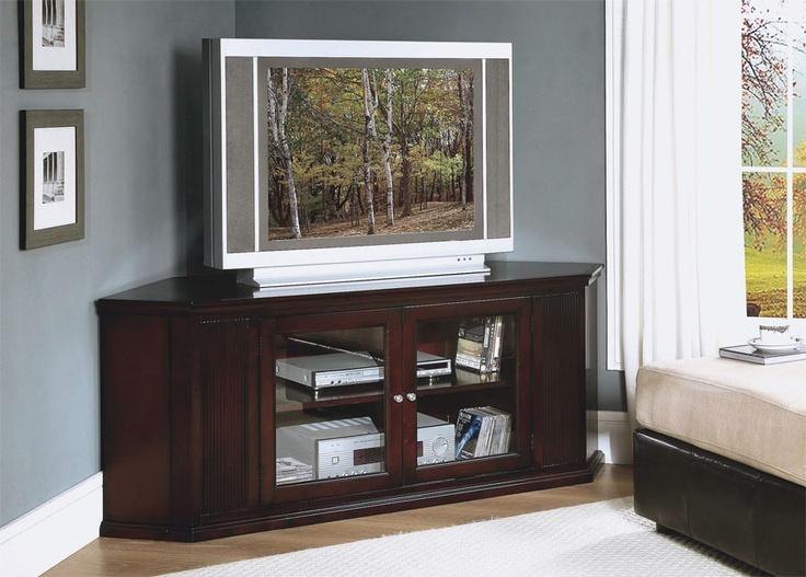 Cappuccino 62 Corner TV Stand