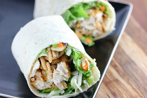 Applebee's Oriental Chicken Roll up