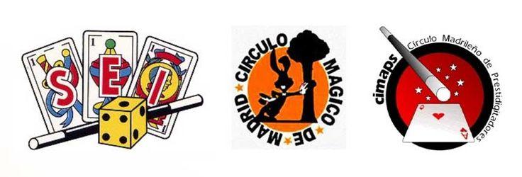 Logos de sociedades de la magia Madrid