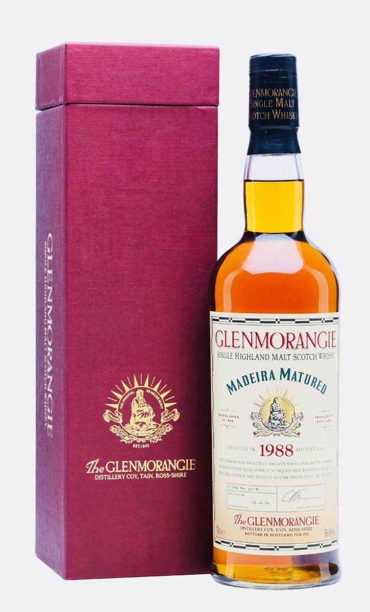 Glenmorangie 1988 15 Year Old Madeira Matured Highlands Whisky Bar Whisky Whiskey In The Jar