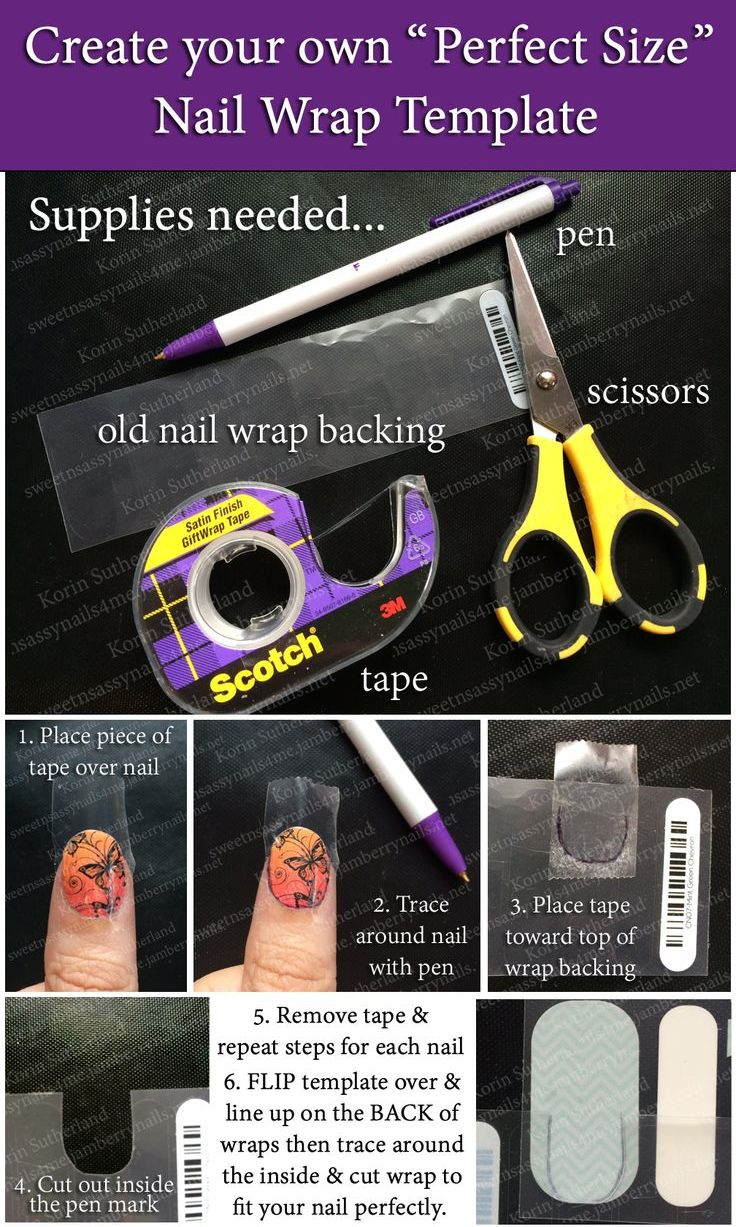 Are you tired of always having to use the tape method to trim your Jams every time you apply them? Create your own Jamberry Nail Template! You will measure & cut once then save the template for all your Jamicures! Visit my FB page: Jams Rock with Gina or my blog: jamsrockwithgina.net for more tips & tricks!