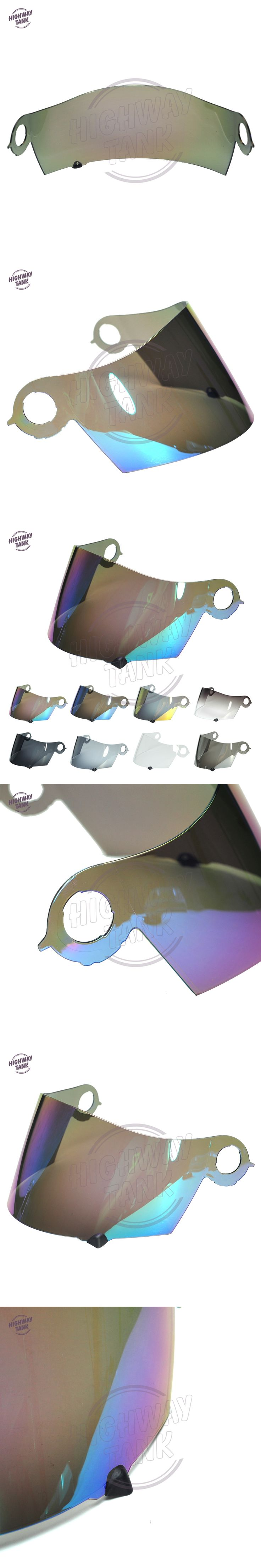 8 Colors Motorcycle Helmet Visor Full Face Shield Case for SUOMY Spec 1R Spec-1R Extreme Apex W/ Gold Iridium Blue Smoke Lens