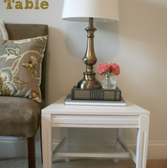 Upcycled Chair to Side Table :: Hometalk