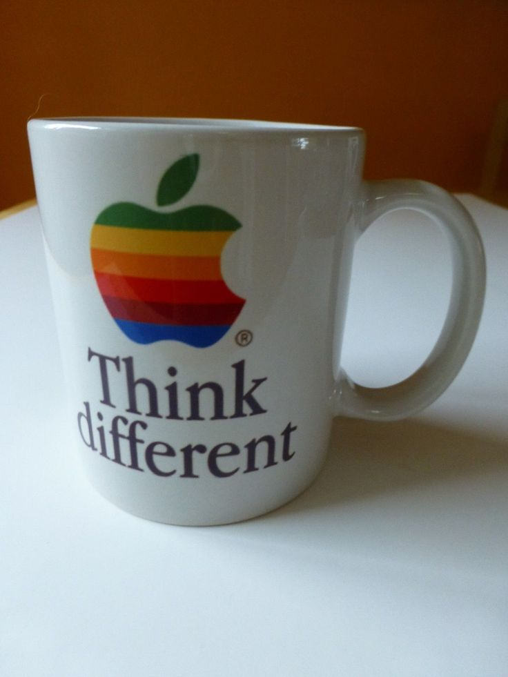 Vintage Apple Computer Think Different