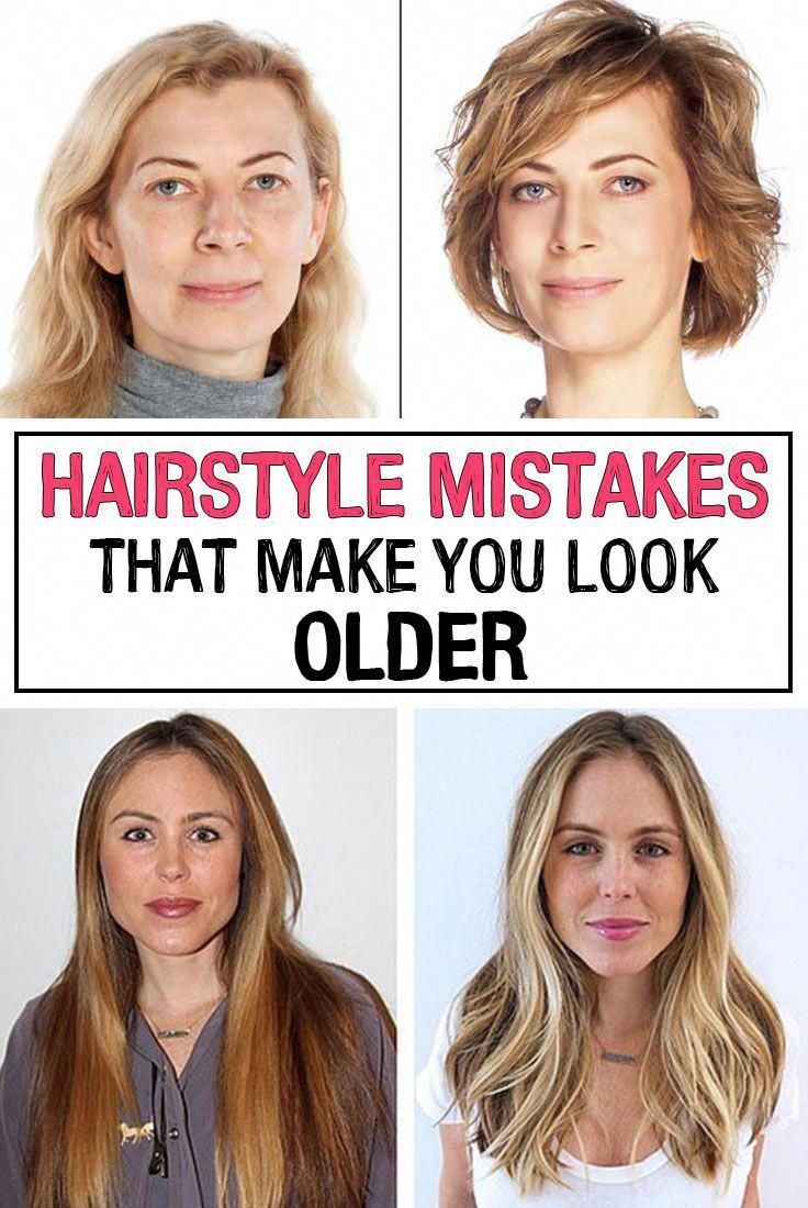 Sometimes Our Clothes And Accessories Can Make Us Look Much Older Than We Actually Are And Here Are Some Older Women Hairstyles Hair Mistakes Womens Hairstyles