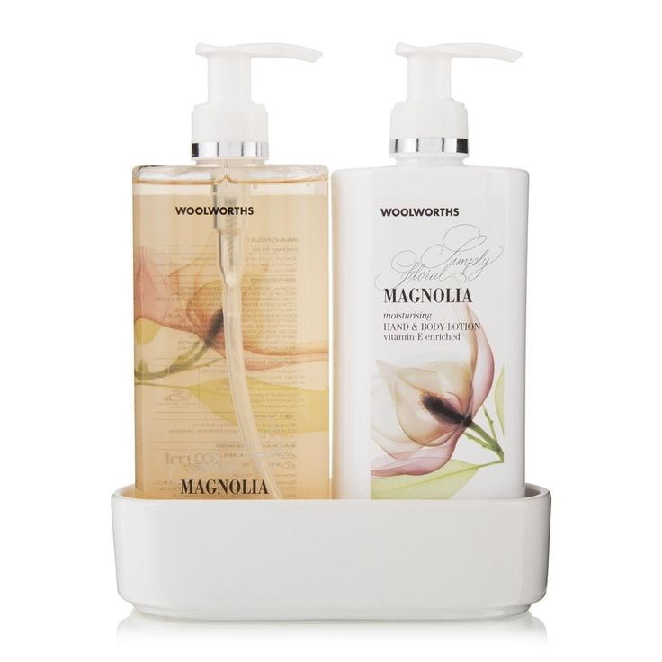 Hand Wash & Body Lotion: Magnolia, Simply Floral