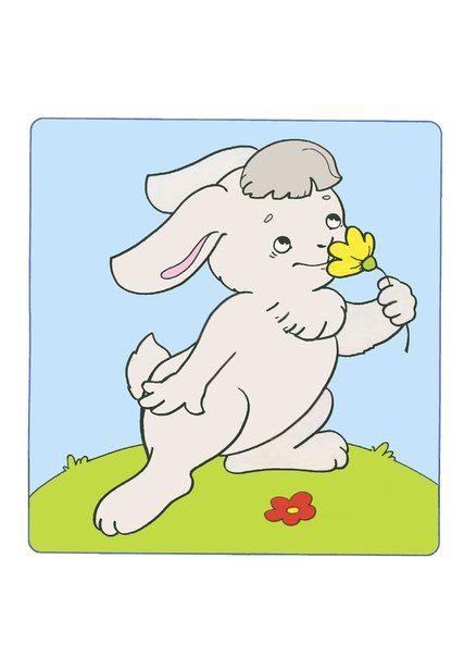 (2015-11) Kaninen lugter til blomsten