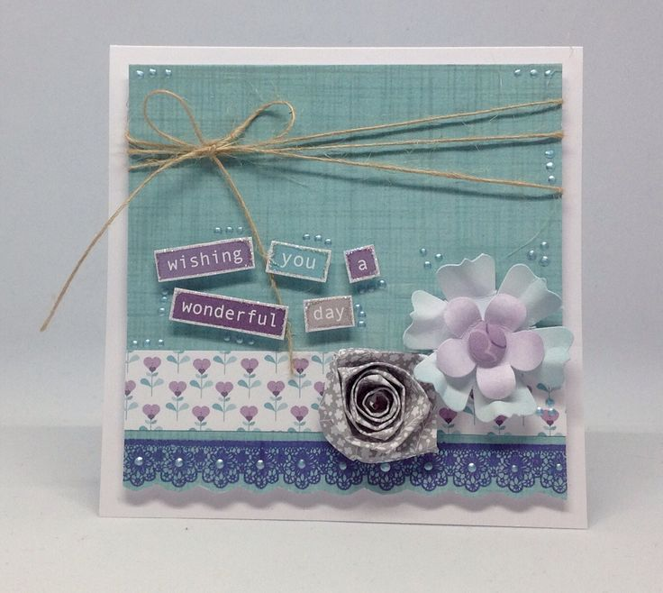 Card created using Julie Loves Hearts and Flowers Stamp Set, by Julie Hickey www.craftworkcards.com