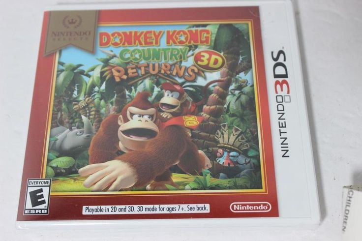 Nintendo 3DS Donkey King Country Returns NEW IN WRAP-GREAT FUN!