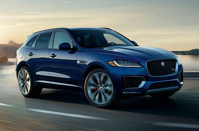 Explore The 2020 Jaguar F Pace Combining Sports Handling With