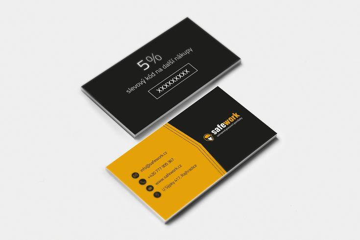 Tvorba vizitek pro Safework.cz #businesscards #businesscardsdesign
