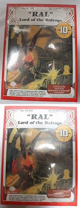 Ral Partha 16489: Ral Lord Of The Balrogs - Ral Partha 10-412 (10Th Anniversary Edition) -> BUY IT NOW ONLY: $100 on eBay!