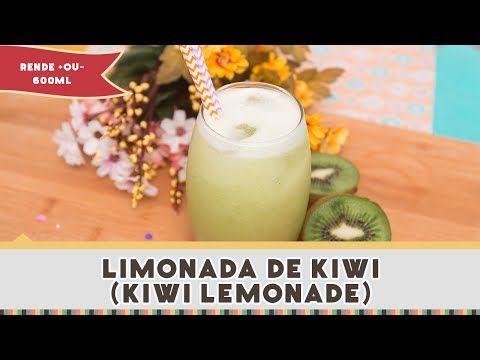 Limonada de Kiwi (Kiwi Lemonade)