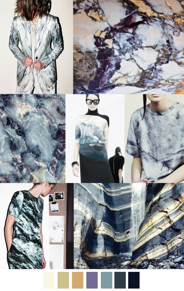 A/W 2017-18 pattern & colors trends: ROCK STAR