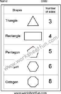 Printables K-5 Worksheets 1000 images about kindergarten worksheets on pinterest skip shapes 1 worksheet