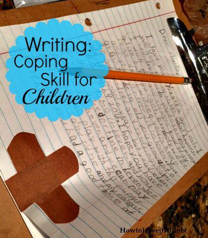 Writing to express feelings