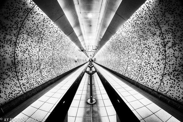 London Underground - Green Park Underground Station, London, England