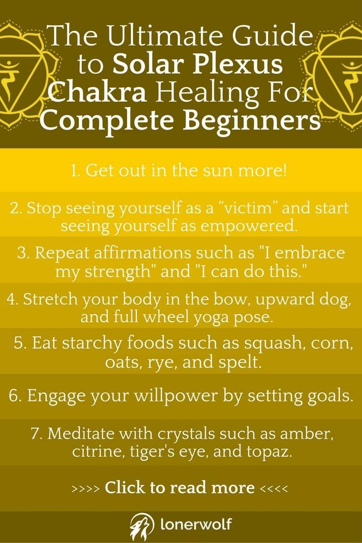 When the solar plexus chakra is blocked we feel insecure, self-conscious, and powerless. Recover balance in this comprehensive solar plexus chakra healing guide!