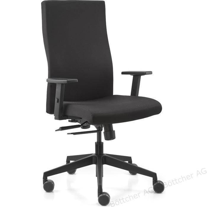 Dauphin Burostuhl Strike Plus Comfort 92485 Schreibtischstuhl Schwarz Stoff Bottcher Ag Burostuhl Stuhle Schreibtischstuhl
