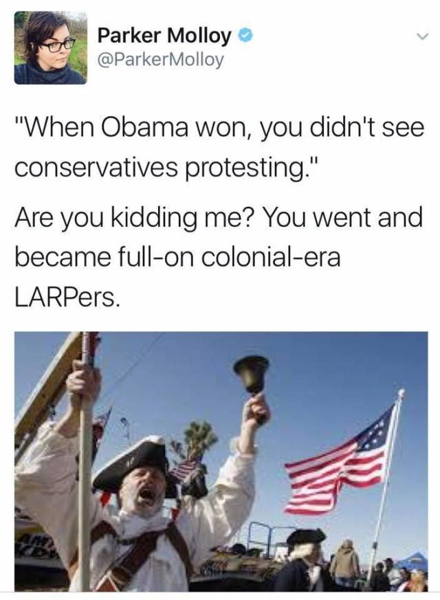Funniest Trump Transition Memes: Protesting/ Had to look this up: LARPers: Live Action Role Player and yes, they did.