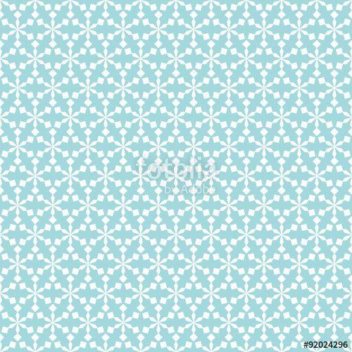 """Téléchargez le fichier vectoriel libre de droits """"Snowflakes Seamless Pattern Retro Turquoise"""" créé par Jan Engel au meilleur prix sur Fotolia.com. Parcourez notre banque d'images en ligne et trouvez l'illustration parfaite pour vos projets marketing !"""