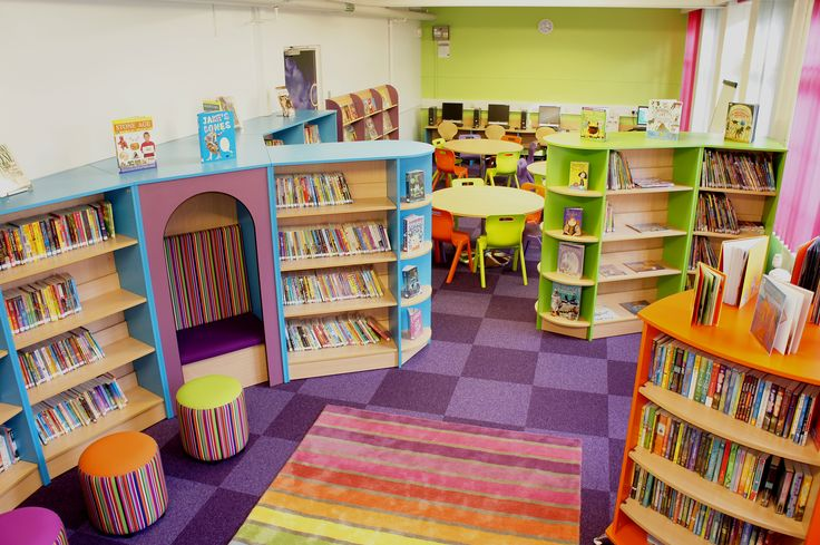 A School Library created by Incube Ltd for A School Library created by Incube Ltd for Woodstock Primary School