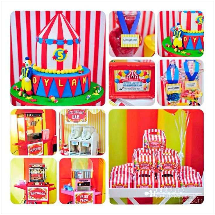 All For Kids Party Hire Circus Party Setup for our sons 5th birthday