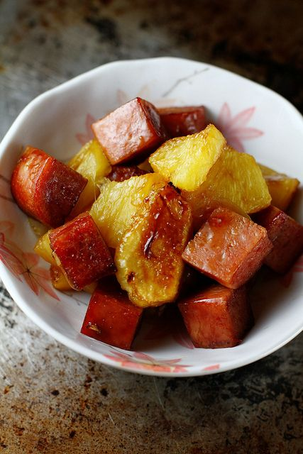 spam recipes with pictures | Recipe Baked Spam and Pineapple in Teriyaki Sauce by Mochachocolata ...