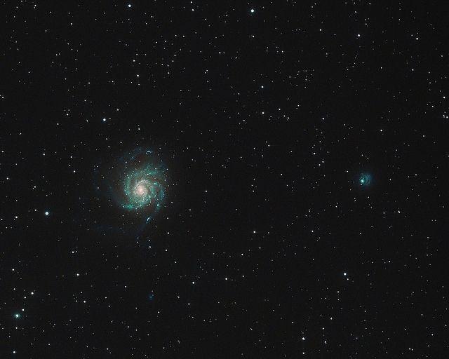 M101 Pinwheel Galaxy   Kekaha, Kaua`i, Hawai`i