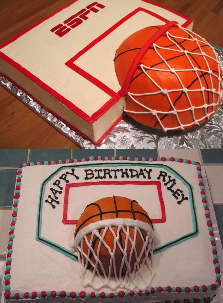 Home Run of Baseball Cake Ideas, Basketball Cake Ideas