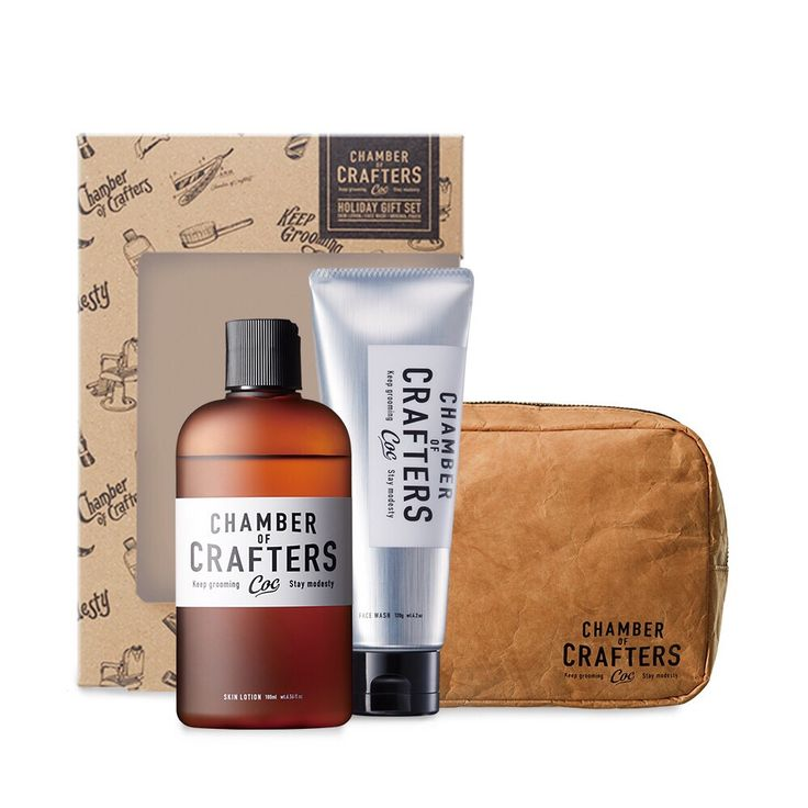 Chamber of Crafters Special Set. The perfect Christmas Gift for that special one?  #chamber of crafters #grooming #barbershop #barber #menscare #skin care #beauty #keep prime #crafter #inspiration #new products #japanese #made in Japan #vintage #retro #pin up #men fashion http://chamberofcrafters.com/