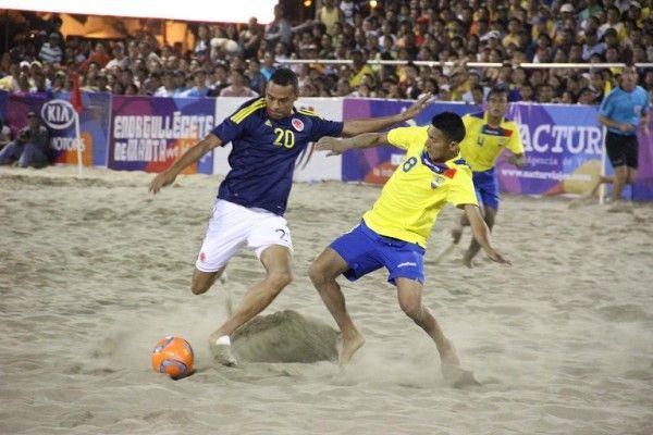 Manta lista para ser sede del Sudamericano de Fútbol Playa