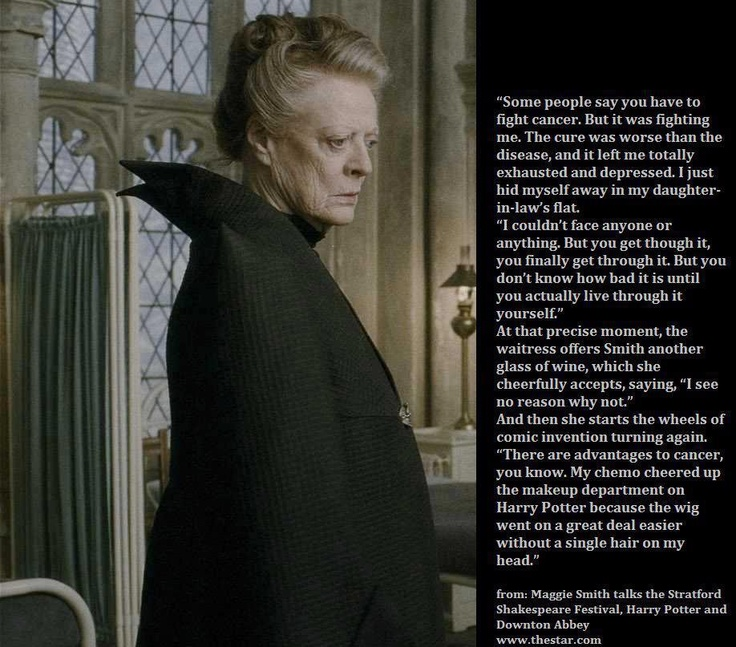 Dame Maggie Smith talks about her career,