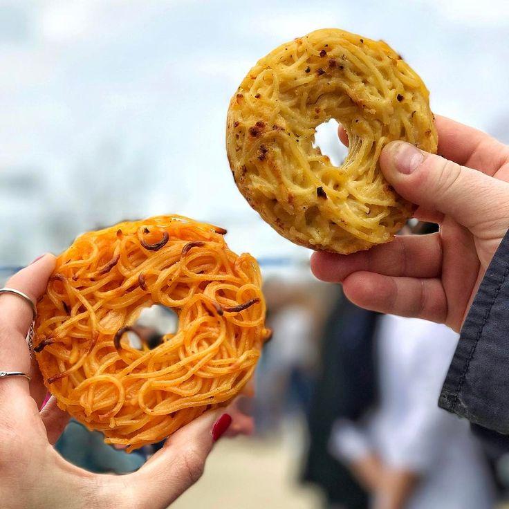 自宅でも作れる♩NY発「スパゲティドーナツ」は次くる新ハイブリッドグルメ♩ - macaroni