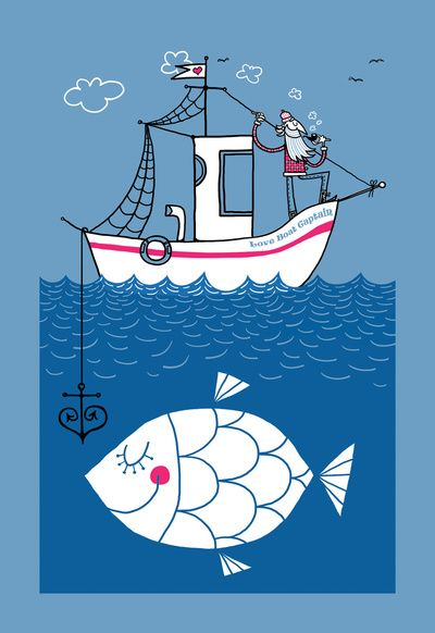 Love Boat Captain  by Caixa Amarela...love this picture!