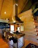 Thomas Blurock, Montana cabin, kitchen