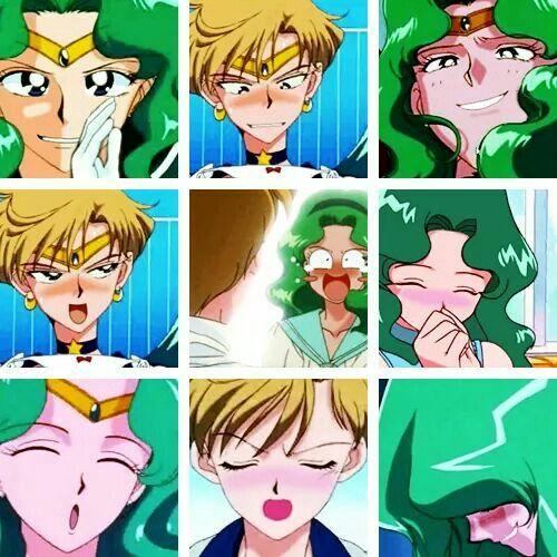 17 Best Images About Sailor Uranus & Sailor Neptune On
