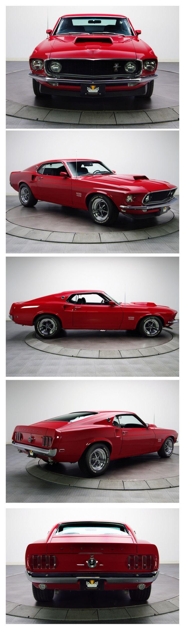 1969 Ford Mustang BOSS 429 Visit http://www.holmestuttle.com/