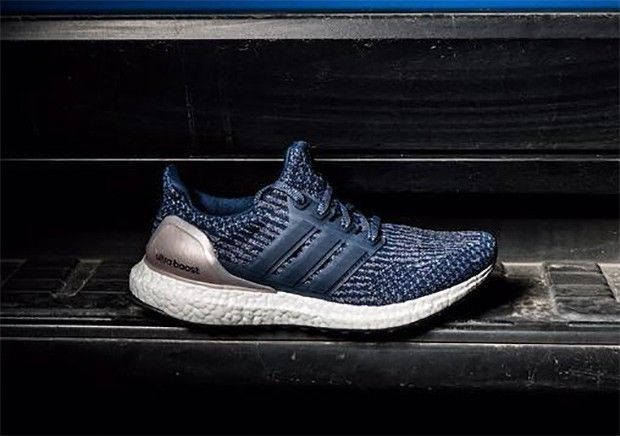 140058a31 Adidas Ultra Boost 3.0 In Blue And Silver Trainer Blue Silver Best Deals