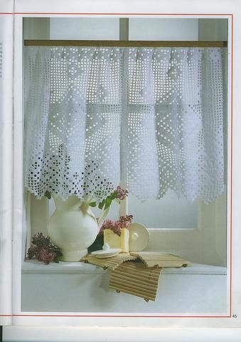 rideau au crochet elena letricotdevero picasa web. Black Bedroom Furniture Sets. Home Design Ideas